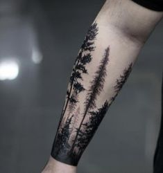 Un bosque en la piel #tatto #Body #Natural