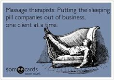 Massage Therapists: Putting Sleeping Pill Companies Out Of Business, One Client At A Time.  Come to Pressure Point Massage Therapy in Southfield, MI for a FANTASTIC massage!  Call us NOW at (248) 358-8800 to book your appointment!  Feel free to visit our website www.pressurepointmassagetherapy.com for more information!