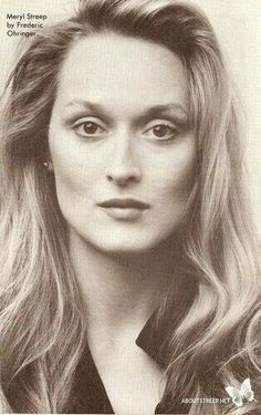 """""""The formula of happiness and success is just, being actually yourself, in the most vivid possible way you can."""" —Meryl Streep"""
