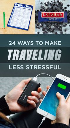 24 Ways To Make Traveling Less Stressful < Mostly a lot of products, but some of them are good ideas