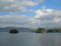 Lake Windermere Windermere, Lake District, Scenery, River, Landscape, Outdoor, Outdoors, Landscape Paintings, Landscapes