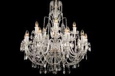 Crystal Lighting: black chandeliers, classic and modern ceiling lighting, metal armed lighting fixtures Crystal Chandeliers, Black Chandelier, Modern Ceiling, Ceiling Lighting, Luxury Decor, Canada, Crystals, Metal, Classic