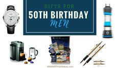 Gifts For A 50 Year Old Man HAHAPPY Gift Ideas