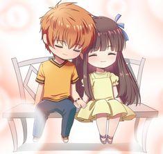 Fruits Basket Cosplay, Fruits Basket Manga, Kyo And Tohru, Otaku, Tohru Honda, Anime Reccomendations, Fanart, Manga Couple, Cute Anime Couples