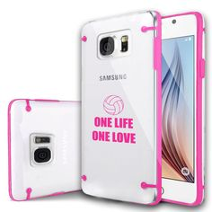 For Samsung Galaxy S3 S4 S5 S6 Edge Clear Hard TPU Case One Life Volleyball in Cell Phones & Accessories, Cell Phone Accessories, Cases, Covers & Skins   eBay