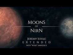 "Jeremy Soule (Skyrim) — Moons of Nirn (90 Min. Medley) [with ""Wind"" Ambience] - YouTube Save Planet Earth, Save The Planet, Bethesda Softworks, Bethesda Games, Video Source, Elder Scrolls, Skyrim, Moon, Youtube"