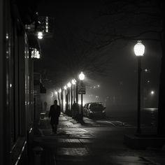 B&W photo by Brian Day. I love this one, it's so film noir.