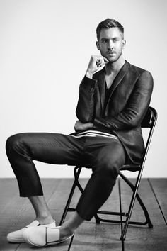 Calvin Harris for Emporio Armani Spring Summer 2015