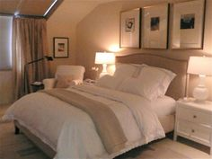 Peaceful Guest Room- definitely what I would do if we redid ours! Hopefully our rooms on the Cape will look like this!