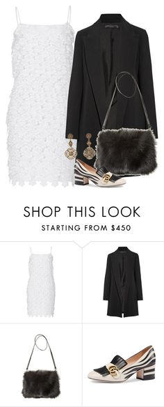 """""""Untitled #3018"""" by erinforde ❤ liked on Polyvore featuring BY. Bonnie Young, The Row, Jocelyn and Gucci"""