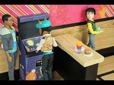 How to Make a Doll Arcade / Video Game Machine