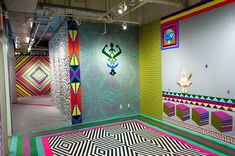Colores y patrones x Dominique Petrin (más de la serie en el link…)