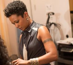 {Grow Lust Worthy Hair FASTER Naturally}        ========================== Go To:   www.HairTriggerr.com ==========================      That's a Hot Tapered Cut!    -Karen Marley