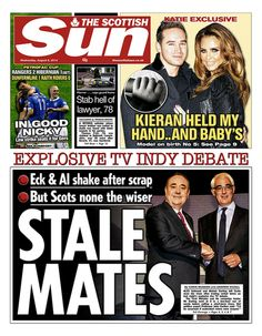 BBC News - The front pages of Scotland's newspapers