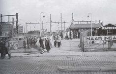 1944. Station Rotterdam Maas stationsgebouw III