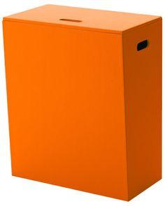 Orange Laundry Basket! --Nameek's 'Kyoto' Laundry Basket