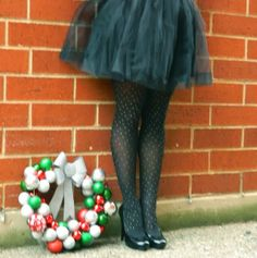 Tulle Skirts are perfect for the holidays