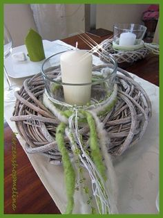 Table decoration Deco Communion Wedding Baptism winds light table arrangement place cards - Home Page Christmas Cards To Make, All Things Christmas, Christmas Fun, Christmas Wreaths, Diy Crafts To Do, Holiday Crafts, Decoration Communion, Lime Wedding, Table Wedding
