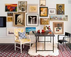 Yesterday, I shared my interview with Jonathan Adler about his new curated collection of New York Times archive photos. As an interior designer, Jonathan Adler College Wall Art, College Walls, Jonathan Adler, Collage Frames, Frames On Wall, Frames Decor, Collage Ideas, Frame Decoration, Collage Photo