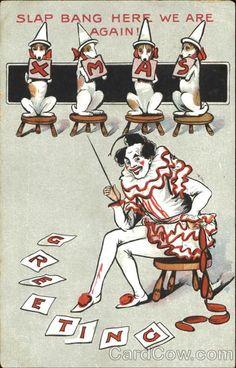 Interesting vintage card we found.