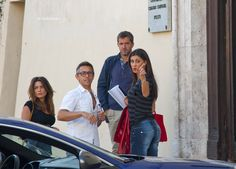 Don Matteo 10 a Spoleto. Nuove immagini dal set con Belen Rodriguez