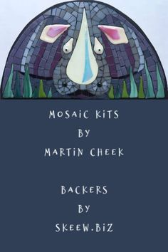 Mosaic Kits for all levels. Martin makes the fused pieces, Skeew sells the Backers for these kits. Great fun! Learn more! Mosaic Kits, Mosaic Ideas, Mosaic Glass, Fused Glass, Cool Things To Make, How To Make, Number Two, Outdoor Gear, Ebooks