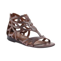 Ackard Flat Sandal Pewter, $65, now featured on Fab.