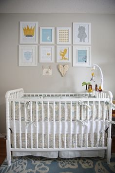 Where the Wild Things Are Nursery - Crib
