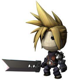 Cloud Strike De Final Fantasy 7 En Little Big Planet Little Big Planet, Final Fantasy, Big G, Planet 1, Cosplay, Character Modeling, Video Game Art, Goblin, Nerdy