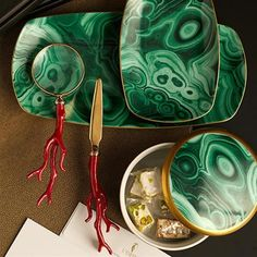 """Material: Limoges Porcelain with 24K Gold Details and hand-applied Decal, Dimensions: 12""""L x 6""""W"""