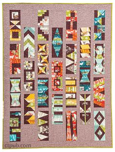 Elizabeth Hartman –– New! A modern quilt sampler from the best-selling author of…