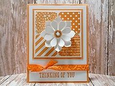 Peanuts and Peppers Papercrafting: Try It Thursday - Succulent Framelits Dies Thinking of You Card