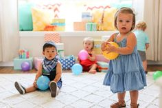 Babies 1st Birthday Party Guide