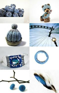 Blueberries season..  by Agne Ramonaite-Bockiene on Etsy--Pinned with TreasuryPin.com