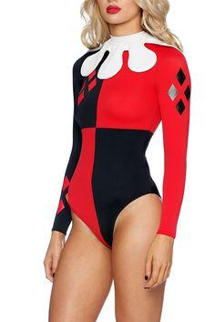 Harley Quinn Reef Suit CAPPED PRESALE (AU $110.00) by Black Milk Clothing
