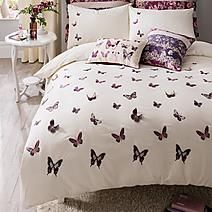 Stylish and contemporary duvet covers available from Dunelm. Our bed linen range includes a variety of colours and patterns, all made with high quality material and in every size, from single to king size duvet covers. King Size Comforters, King Size Bedding Sets, King Size Duvet Covers, Duvet Sets, Duvet Cover Sets, Plum Bedding, Linen Bedding, Bed Linens, Contemporary Duvet Covers