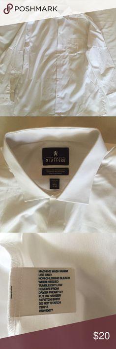 Stafford NWOT Regular Fit 16 1/2 Shirt Regular fit perfect condition Stafford Shirts Dress Shirts