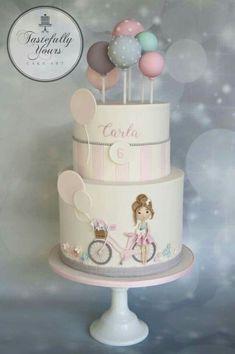 Tastefully Yours Cake Art - Timeline Gorgeous Cakes, Pretty Cakes, Cute Cakes, Amazing Cakes, Fondant Cakes, Cupcake Cakes, Novelty Cakes, Girl Cakes, Baby Cakes