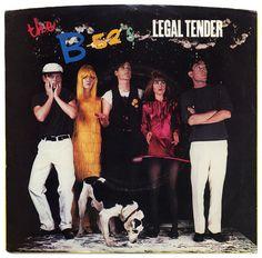 Legal Tender b/w Moon 83. The B-52's, Warner Bros. Records/USA (1983)
