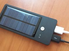 Solocharg! Portable USB Solar Charger for Electronic Gadgets