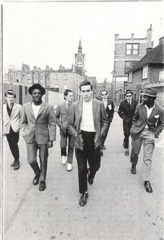 The Specials in a promo shot for Coventry Tourism….allegedly
