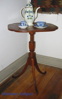 Federal Period Tilt Top Candle Stand c. Candle Stand, Small Tables, Tilt, Period, Candles, Furniture, Home Decor, Federal, Small End Tables