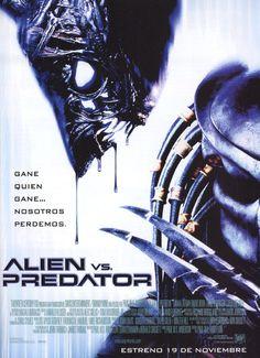 Cartel Español de Alien Vs. Predator