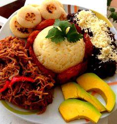 No dejes de comer bien tu plato criollo para no engordar porque así es Venezuela