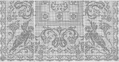 Cкатерть-с-амурами крючок Cross Stitch Angels, Fillet Crochet, Monochrom, Stitch 2, Knitting Stitches, Bed Spreads, Needlework, Vintage World Maps, Crochet Patterns