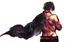 Ace one piece by One Piece World, One Piece Ace, One Piece English Sub, Manga Anime, Anime Boys, Ace Sabo Luffy, One Peace, The Pirate King, One Piece Images