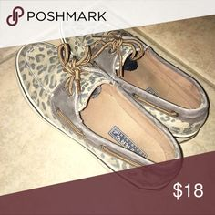 Leopard Sperry Top-Sider Leopard Sperry's size 7, brown or tan in color Sperry Top-Sider Shoes Flats & Loafers