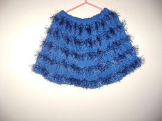 Gloves that can be worn in elegant outfits. A real lady has to have them in the wardrobe. Knitted Skirt, Baby Skirt, Trending Outfits, Unique Jewelry, Handmade Gifts, Skirts, Blue, Etsy, Clothes