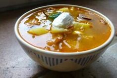 Magyars have something special for a Hungarian Hangover. It's called Korhelyleves or Drunkard's Soup.