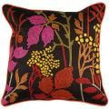 Bohemian Floral Park 18x18 Multicolored Pillow  | Overstock.com Shopping - The Best Deals on Throw Pillows